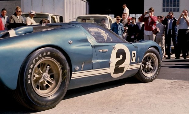 The Dan Gurney - Jerry Grant Shelby Ford GT40 Mk. II in the paddock prior to the 1966 Sebring 12 Hours