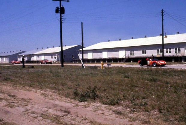 Warehouse straight at Sebring, 1966
