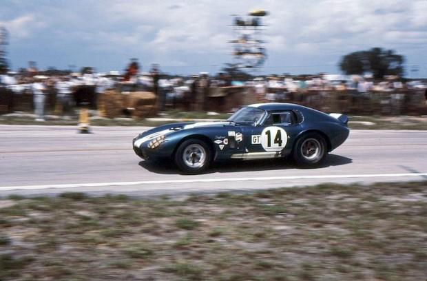 Shelby Cobra Daytona Coupe of Bob Johnson and Tom Payne