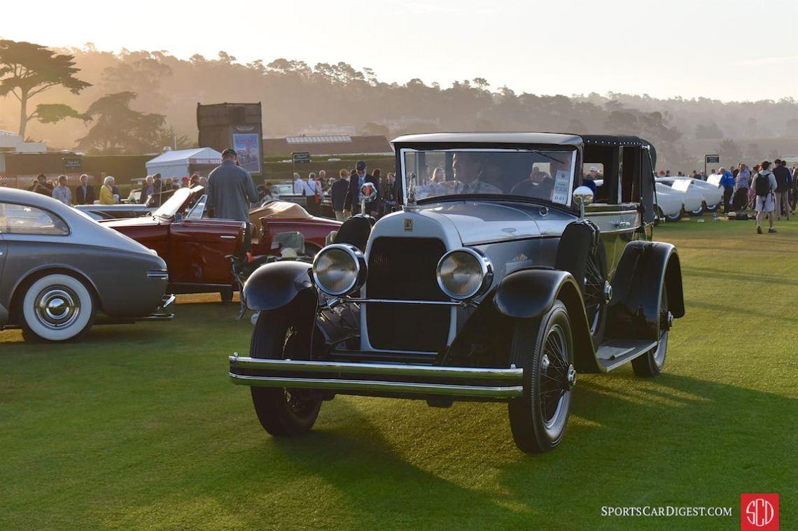 1928 duPont Model E Woonsocket Convertible Sedan