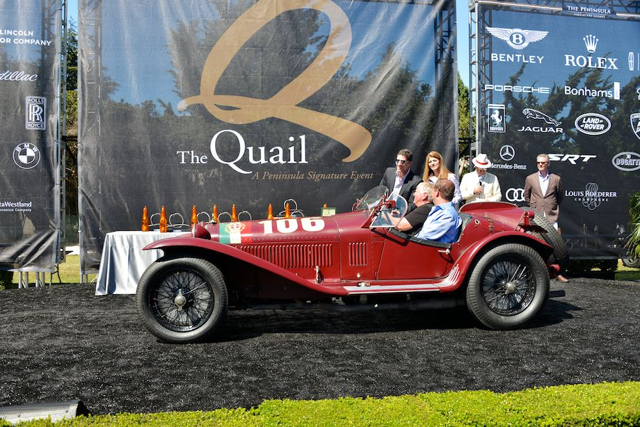 1932 Alfa Romeo 8C 2300 Touring Corto Spider, Cars of California Mille Class Winner