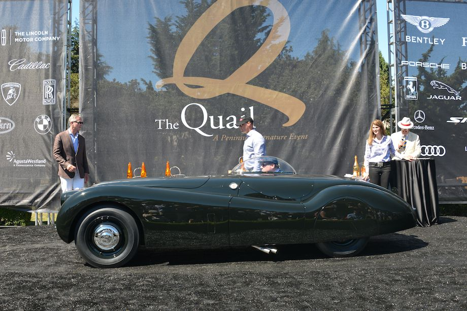 Jaguar XK120 won Best in Class