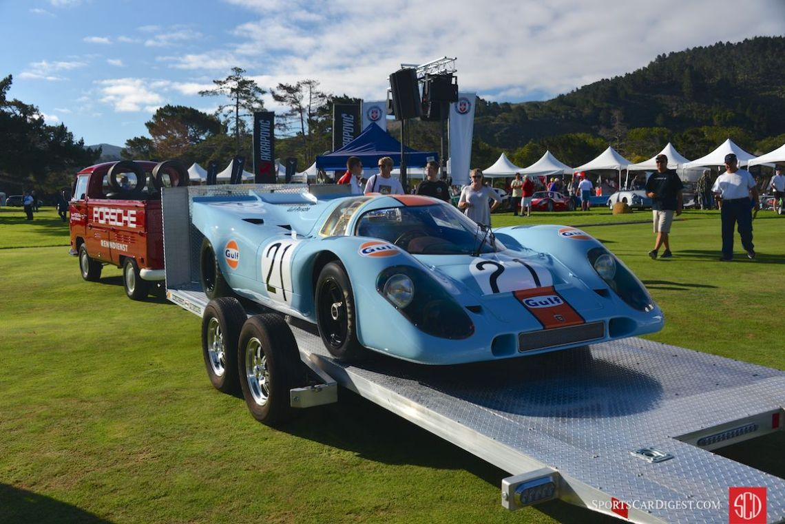 Porsche 917K recently restored by Porsche Motorsport