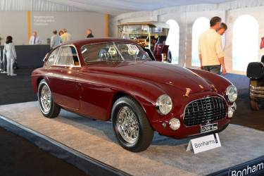 Ferrari 212 Export Touring Berlinetta at Bonhams Scottsdale 2014