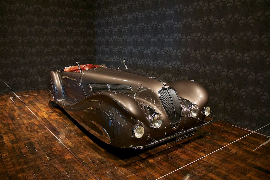 1937 Delahaye 135MS Roadster, Courtesy of The Revs Institute for Automotive Research and the Collier Collection