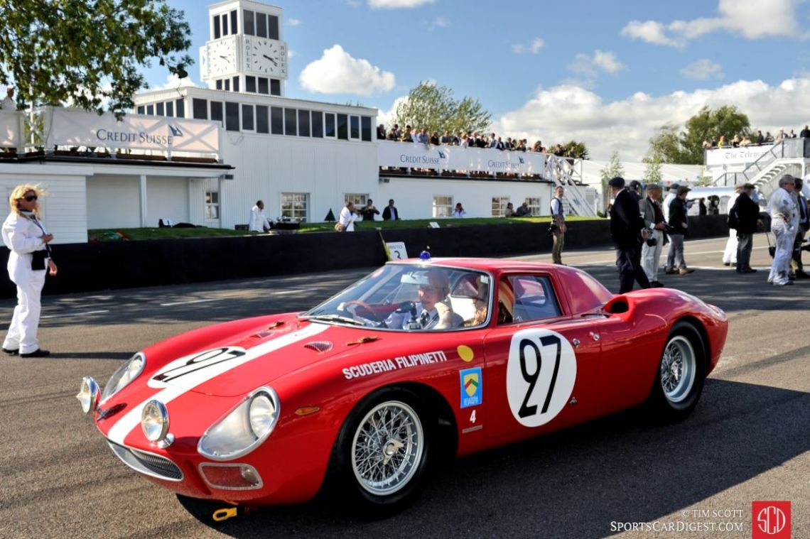 Lavant Cup Pace Car - Ferrari 250 LM driven by John Surtees