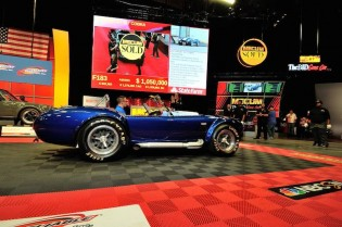 1967 Shelby 427 Cobra Roadster sold for $1,000,000