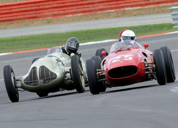 Pre-1961 Grand Prix Cars at Silverstone Classic 2010