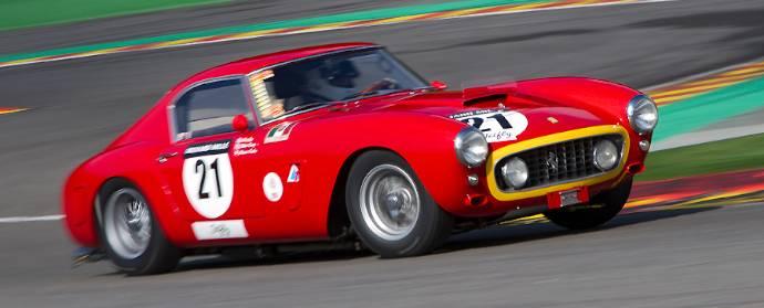 Ferrari 250 GT SWB at Spa Classic 2013