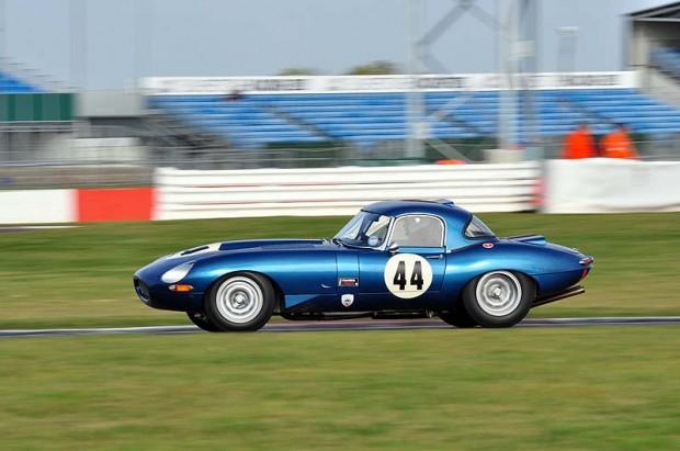 Stephen Radcliffe 1964 Jaguar E-Type - Winner of Class C2