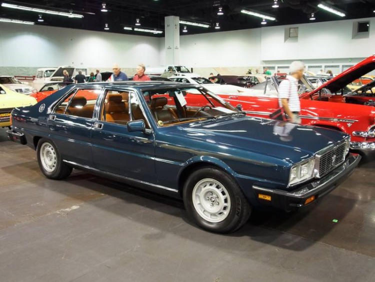 1985 Maserati Quattroporte 4-Dr. Sedan