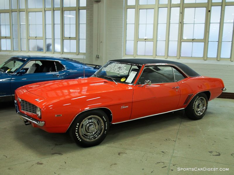 1969 Chevrolet Camaro COPO 2-Dr. Hardtop