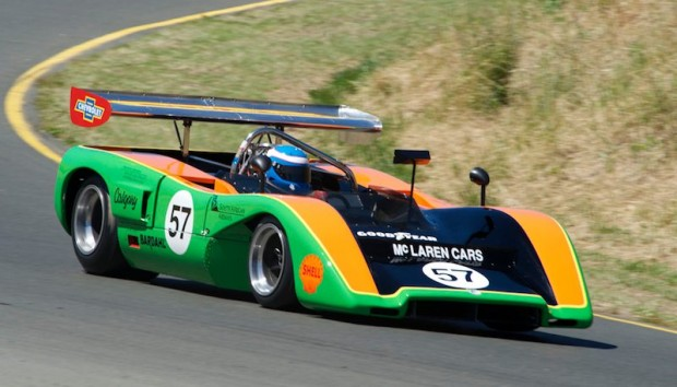 1970 McLaren M8C - Tony Garmey at Sonoma Historics