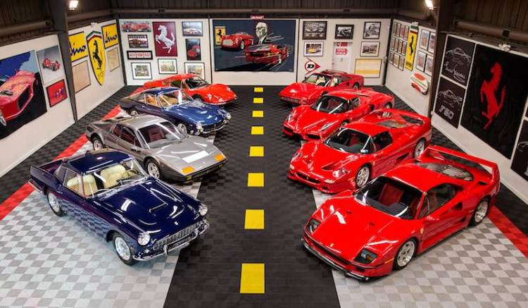 Tony Shooshani Ferrari Collection (photo: Mike Maez)