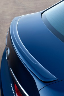 compact sedan manual sport trunk spoiler