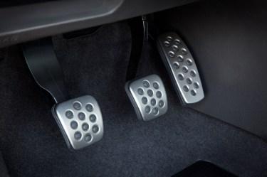 interior pedals manual clutch