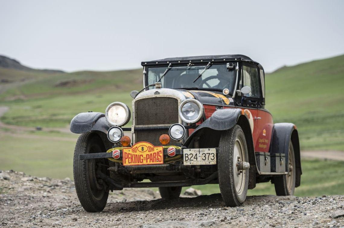 Car 08. Lloyd Reddington(CAN) / Treacy Reddington(CAN)1927 - American Nash 3700, Peking to Paris 2016