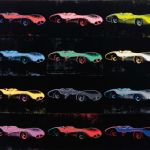 Andy Warhol Mercedes-Benz W196 Painting Offered