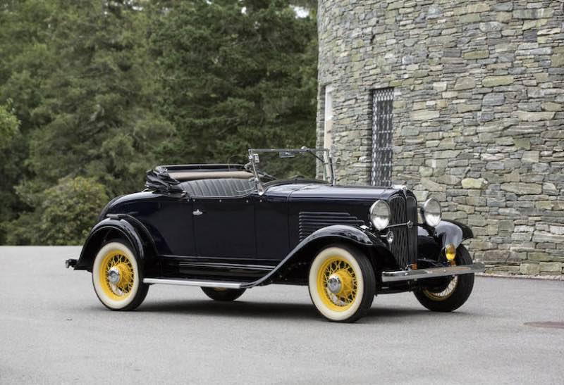 1932 Willys 6-90 Silver Streak Roadster