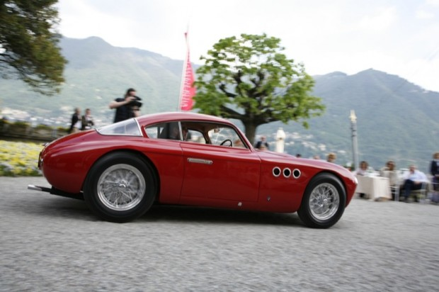 1950 Abarth 205 A Berlinetta Vignale won the Trofeo Girard-Perregaux at the 2009 Concorso d'Eleganza Villa d'Este