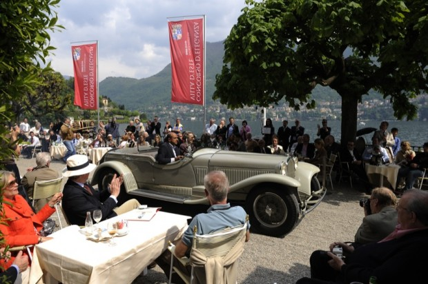 "<strong>Trofeo ""FIVA"" - To the Best Preserved Car</strong>, 1931 Alfa Romeo 6C 1750 GTC Cabriolet Castagna, Gabriele Artom, Italy"