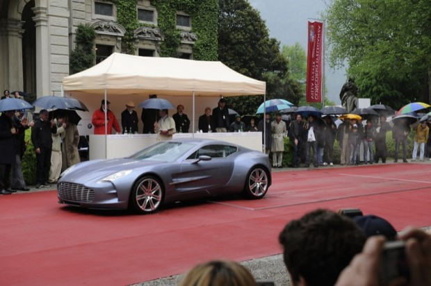<strong>Concorso d'Eleganza Design Award</strong> Aston Martin Lagonda One-77 Coupe, Dr. Ulrich Bez, United Kingdom