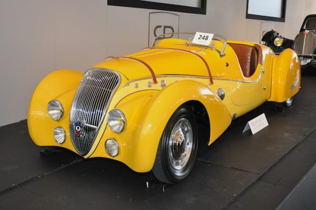 <strong>1938 Peugeot 402 Darl'mat Legere 'Special Sport' Roadster – Sold post-sale for $777,000 versus pre-sale estimate of $800,000 - $1,000,000.</strong>