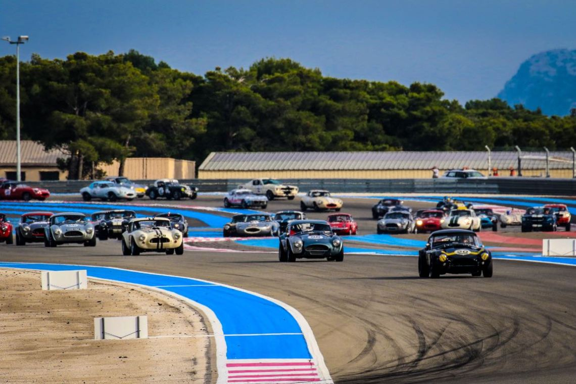 Sixties Endurance class at the Dix Mille Tours du Castellet 2016
