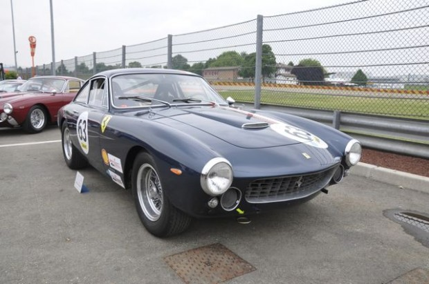 <strong>1964 Ferrari 250 GT Berlinetta Lusso Competizione – Estimate €800,000 – €1,100,000. </strong>Chassis # 5367 GT is one of only three competition Lussos and, given its participation in the Tour de France (5th in class 1964), race history and current competitiveness in vintage racing, may very well be the best.