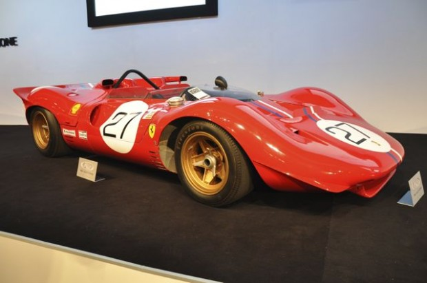 <strong>1967 Ferrari 330 P4 – Did not sell at high bid of $7,400,000 versus unavailable estimate. </strong>Driven by Jackie Stewart and Chris Amon to 3rd place finish at 1967 24 Hours of Le Mans; also won the 1000km of Monza. Converted into Ferrari 350 Can-Am form late in 1967 and currently presented in same bodywork; offered for the first time in 38 years.