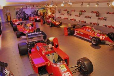 Formula One Cars at Ferrari Galleria