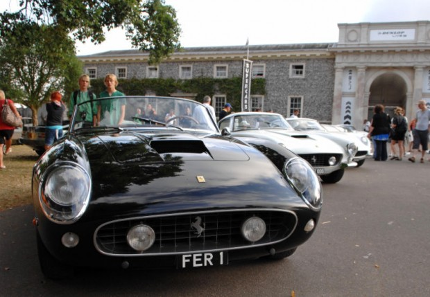 Chris Evans' collection of Ferraris, headlined by Ferrari 250 GT SWB California Spyder