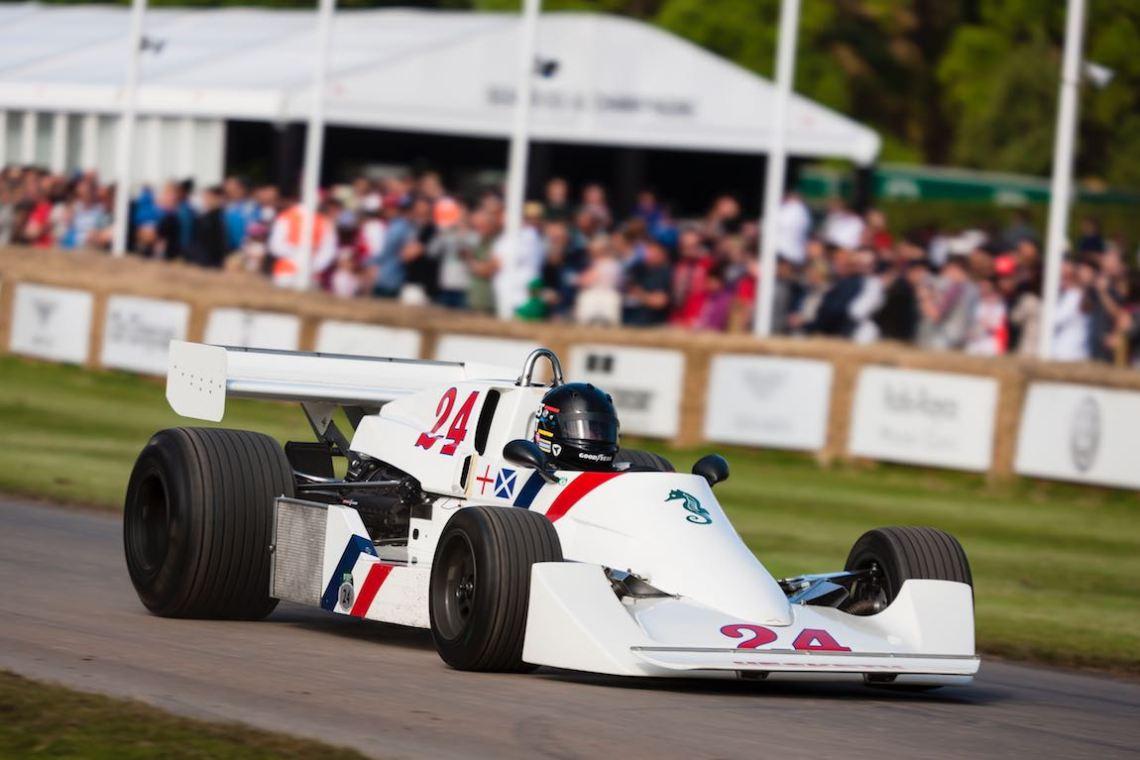 Hesketh-Cosworth 308C Photo: Drew Gibson