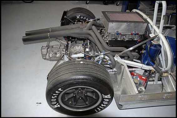 1964 Cooper Monaco King Cobra Engine