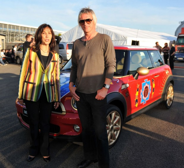 MINI United Festival - Olivia Harrison and Paul Weller