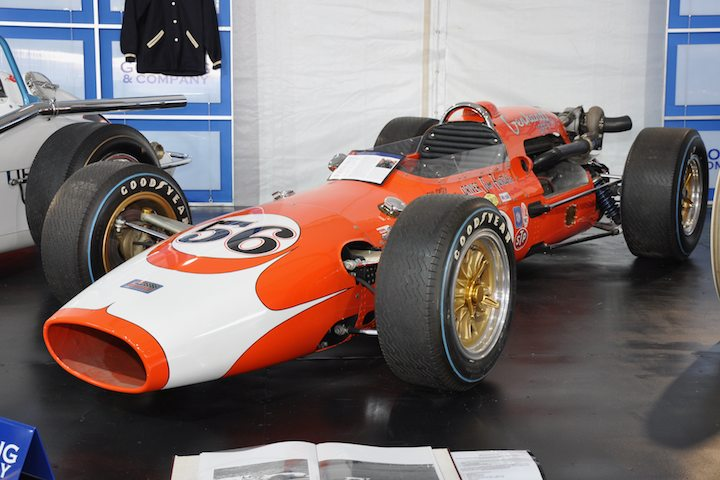 1966 Gerhardt-Offy Indy Car – Sold for $115,500 versus pre-sale estimate of $200,000 - $275,000. Indy 500 veteran; powered by turbocharged Offenhauser; sold without reserve.