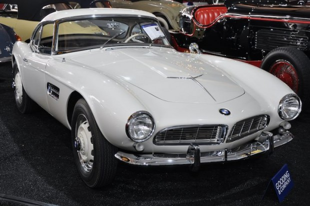 <strong>1958 BMW 507 Series II – Sold for $935,000 versus pre-sale estimate of $750,000 - $900,000.</strong> Extensive documentation and only two owners and 27,000 miles from new.