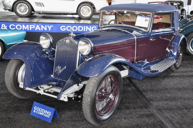 1933 Alfa Romeo 8C 300 Drop Head Coupe – Sold for $4,180,000
