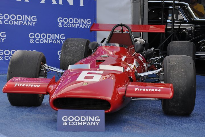 1969 Ferrari 312 Formula One – Did not sell versus unavailable estimate. Ex-Chris Amon and Pedro Rodriguez. Formerly part of Jon Shirley Collection; class winner at the 2008 Monaco Historic Races.