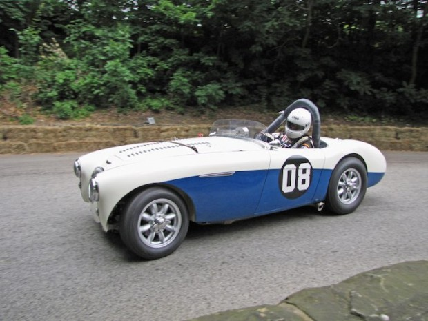 Group 5 Winning 1955 Austin-Healey 100M of RJ Mirable