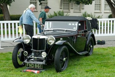 Prepping 1939 MG TA Tickford