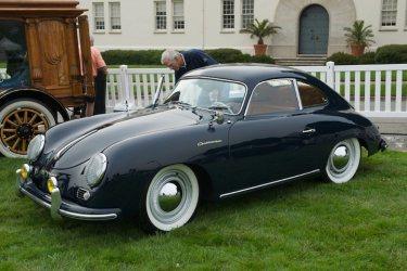 Prepping 1955 Porsche Continental