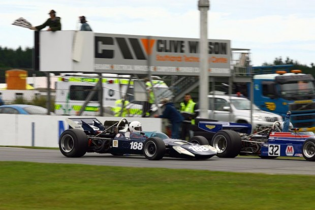 Surtees driver Michael Whatley on the line for eighth place