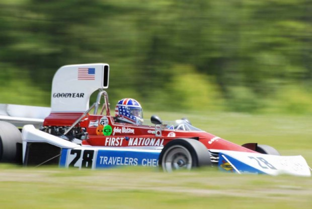 1975 Penske PC-3, ex-John Watson, driven by Doug Mockett