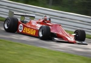 1979 Ensign N-179, ex-Derek Daly, driven by Bud Moeller
