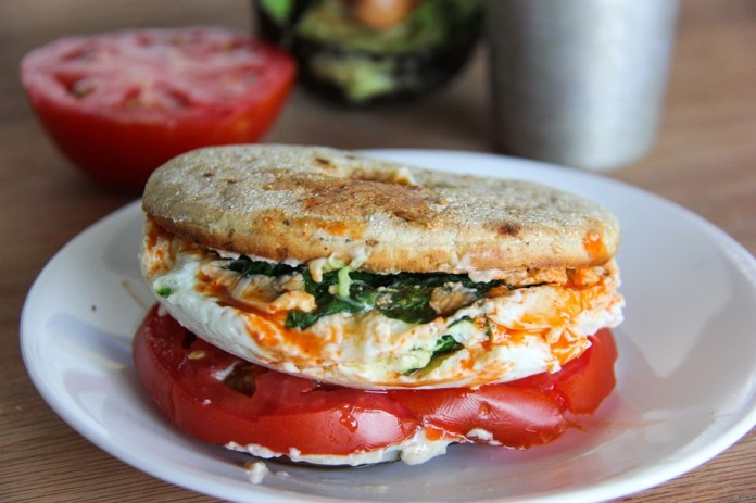 How to Make a High-Protein Egg White Breakfast Sandwich
