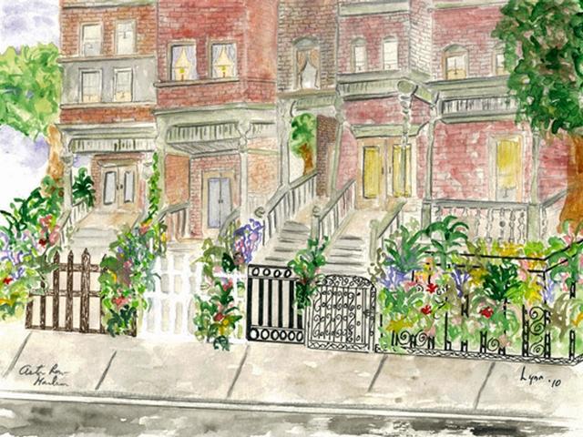 Harlem Artist Paints