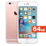 Apple iPhone 6s (Rose Gold, 64 GB) – Refurbished with 1 Year Warranty