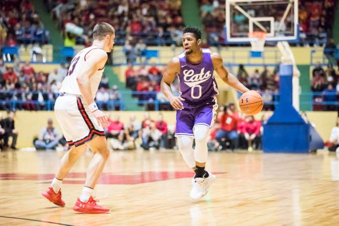 Image result for Abilene Christian Wildcats vs Nicholls Colonels College Basketball 2019