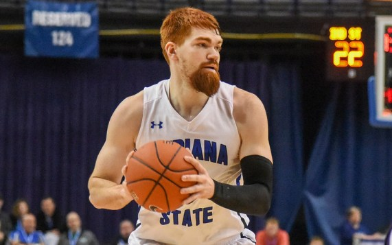 Image result for Indiana State Sycamores vs Valparaiso Crusaders College Basketball 2019
